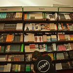 Masses of books in the Bookshop |