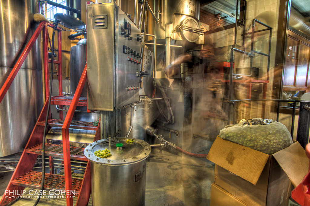 At the Portsmouth Brewery II by Philip Case Cohen