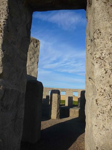 Maryhill Stonehenge, on the Columbia River | by FallenPegasus