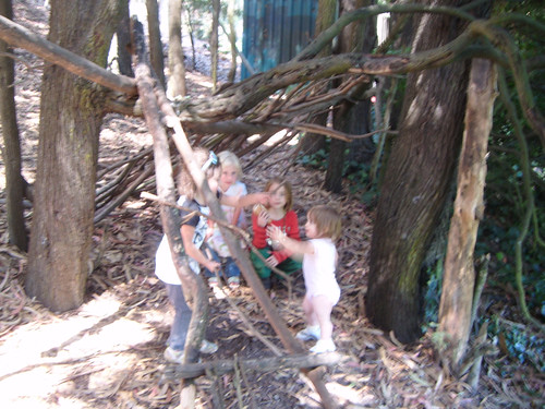 kids in their fort | by Liz Henry