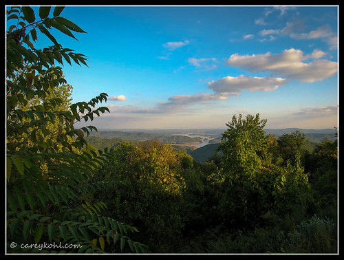 landscape tennessee clinchmountain
