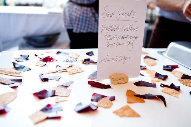 Vegetable leathers at Coi