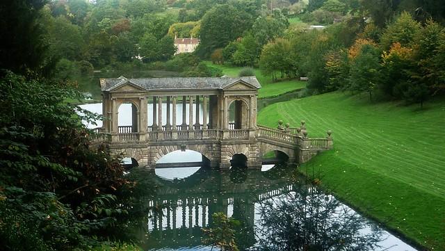 Palladian Bridge: Prior Park Landscape Garden