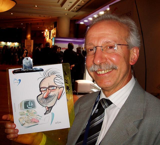 stand caricaturista