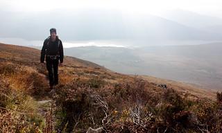 Climbing above Loch Laggan | by Nick Bramhall
