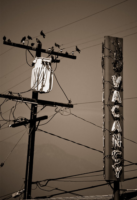The View Motel - Vacancy Sign