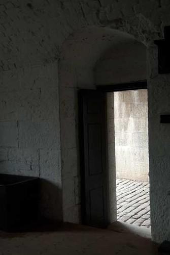 Entrance to the guardroom, Halifax Citadel | by Elizabeth Buie