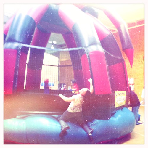lali and a bouncy machine, @ tbwa chiat day