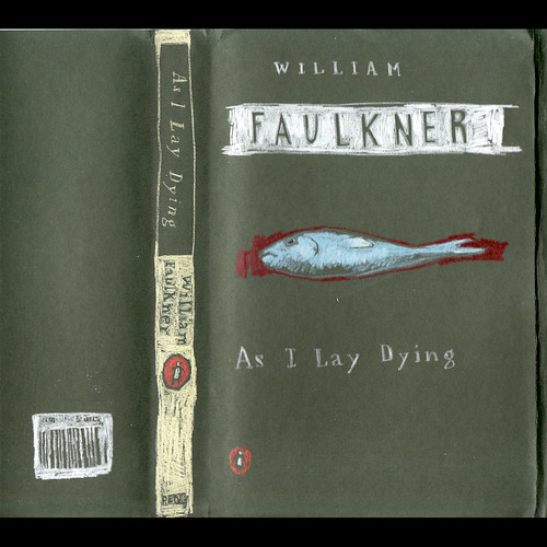 "Jennie Ottinger ""As I Lay Dying (book cover)"""