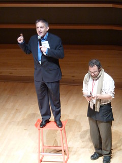 Chris Bartlett and Jonny Goldstein at TEDxPhilly 2010