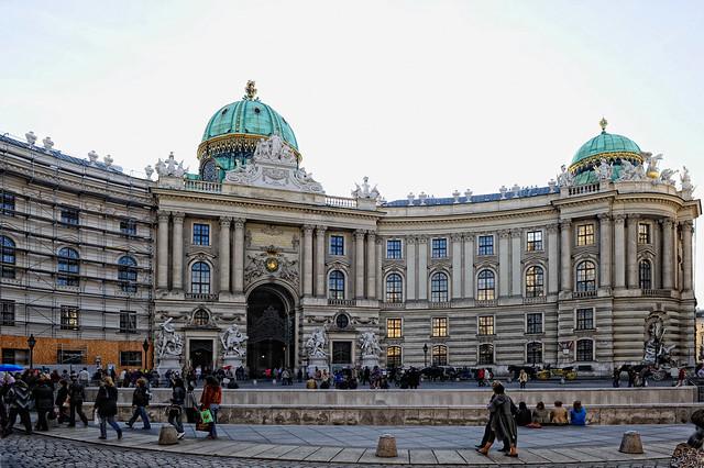 Wiener Hofburg Eingangsportal