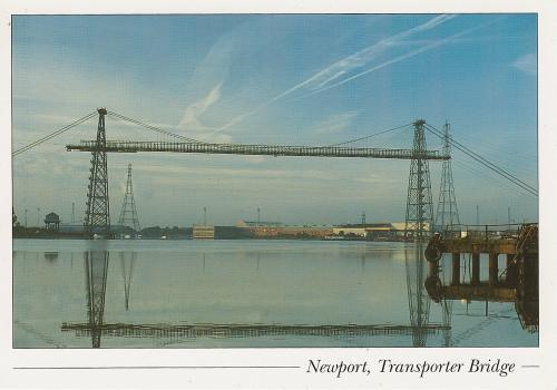 Newport, Transporter Bridge Postcard