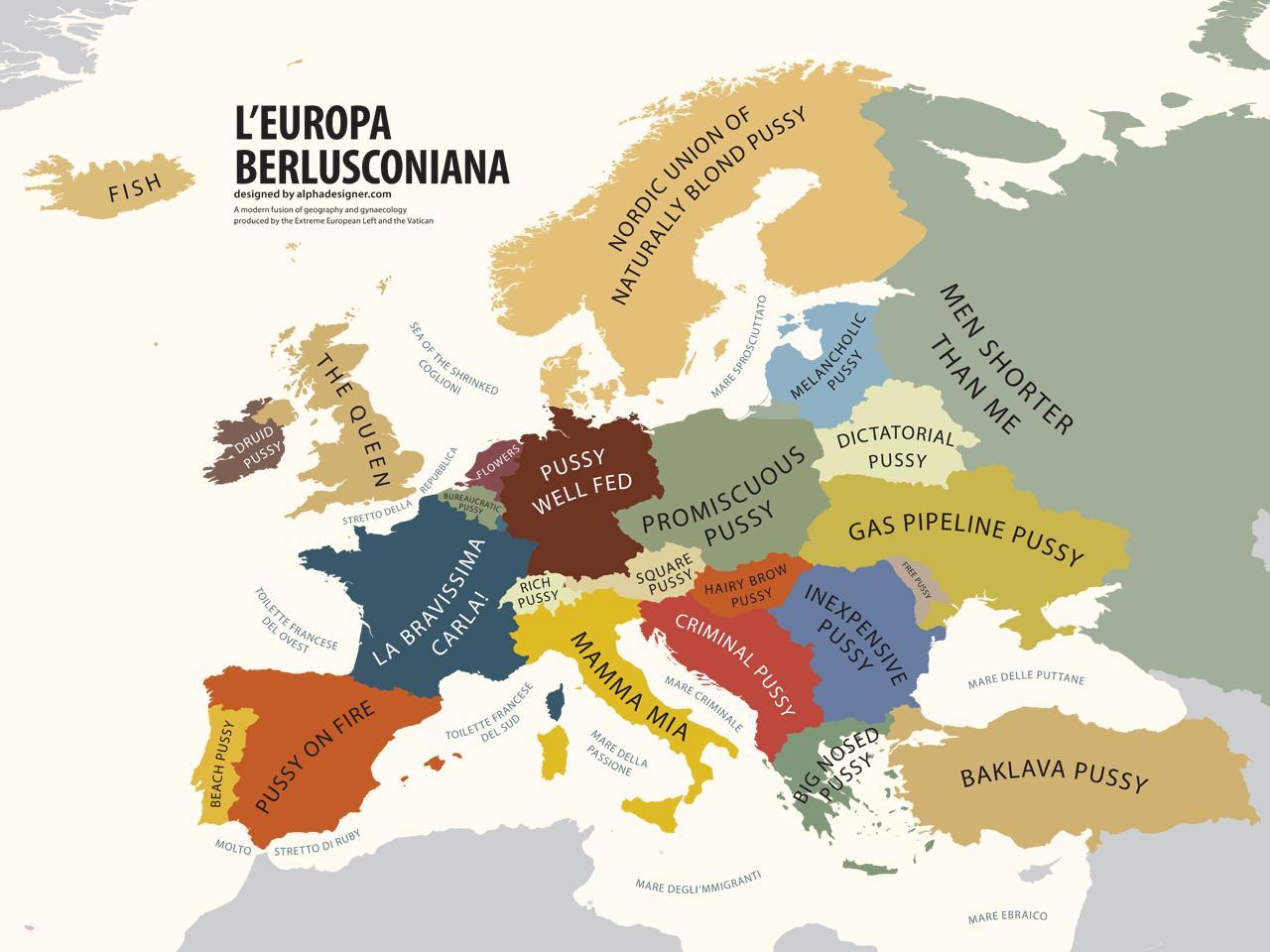 All Sizes Europe According To Silvio Berlusconi Flickr Photo