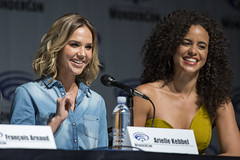 Arielle Kebbel and Parisa Fitz-Henley
