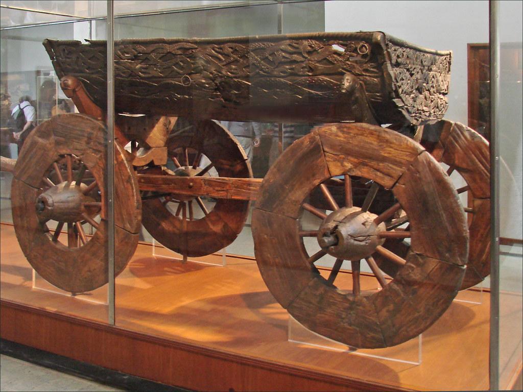 Le chariot viking d'Oseberg