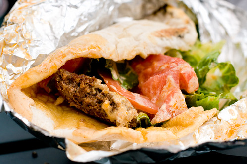 Merguez sandwich, Bedouin Tent | by gsz