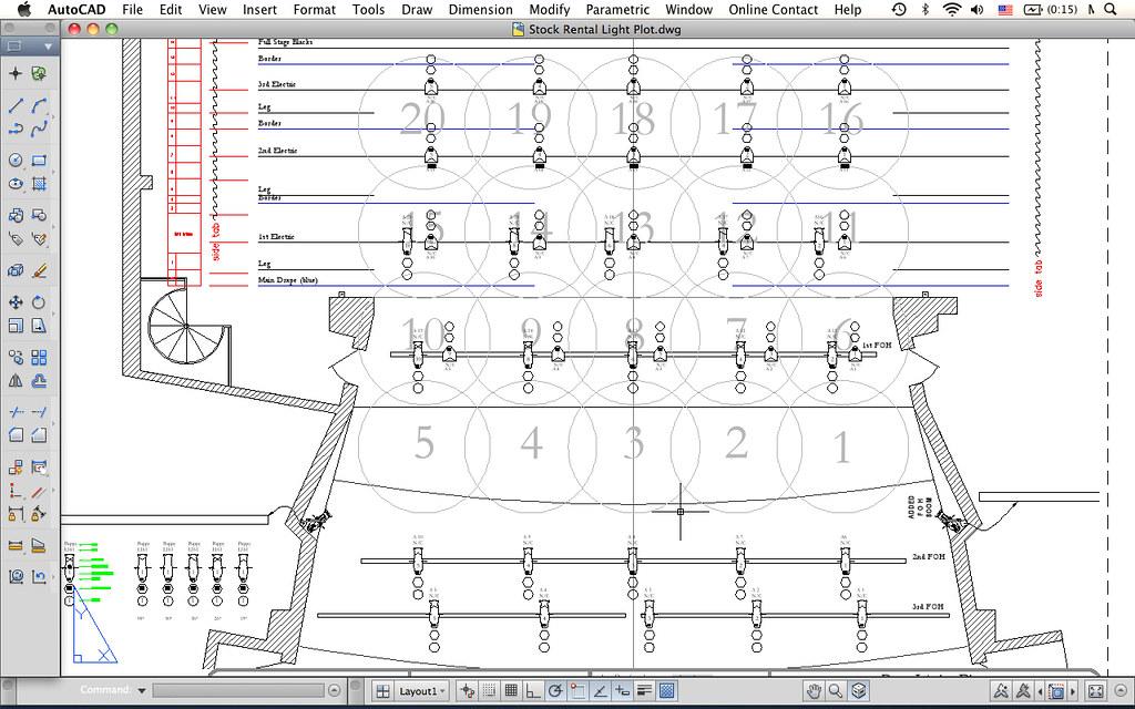 Awe Inspiring Autocad For Mac Autocad For Mac Showing Stage Lighting Des Flickr Wiring Digital Resources Dylitashwinbiharinl