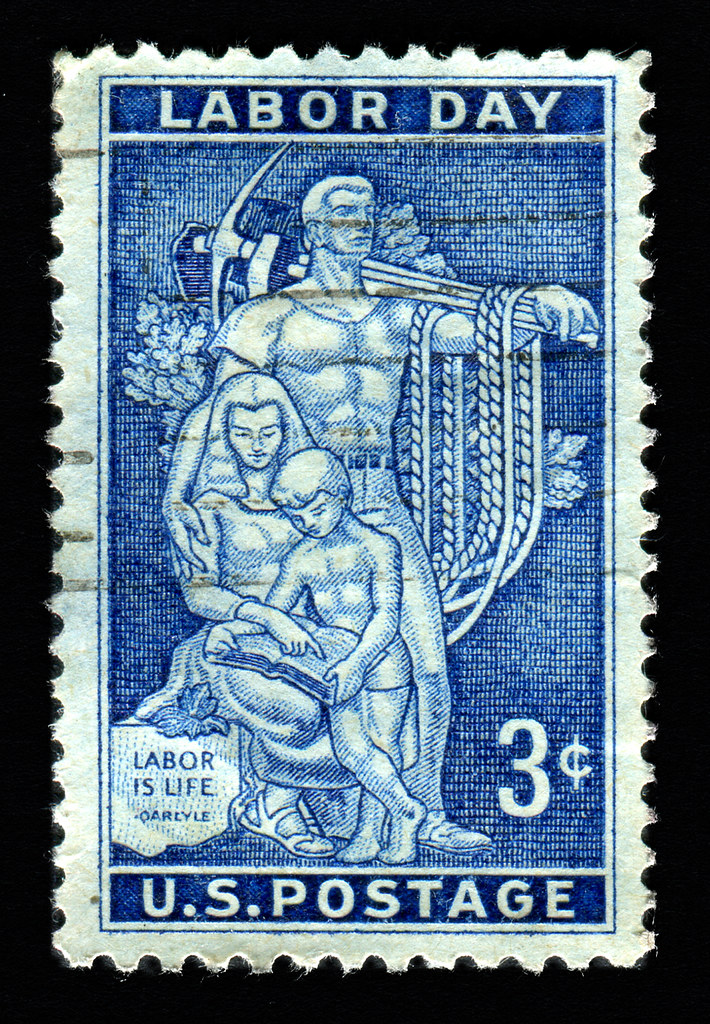 United States stamp: Labor Day