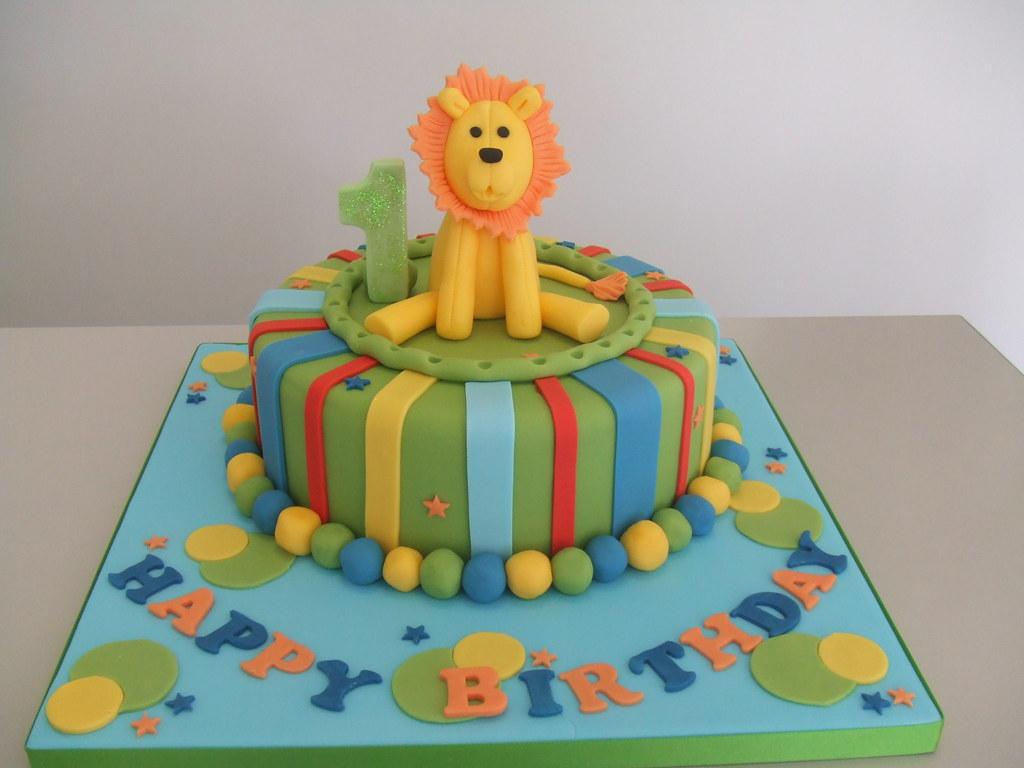 Strange Cake Birthday Lion Display Cake For Studio By Jules Jules Funny Birthday Cards Online Overcheapnameinfo