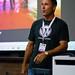 Michael Dorausch speaking at WordCamp LA by Bryan Villarin