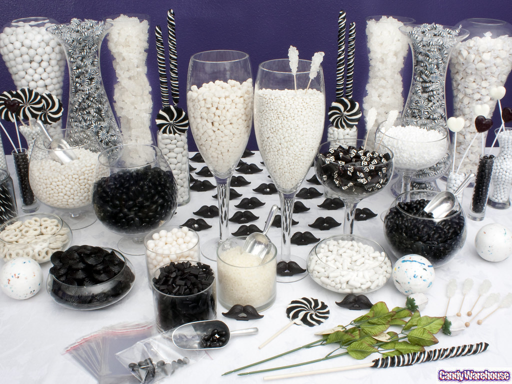 Phenomenal Black White Candy Buffet Delicious Black And White Candy Download Free Architecture Designs Parabritishbridgeorg