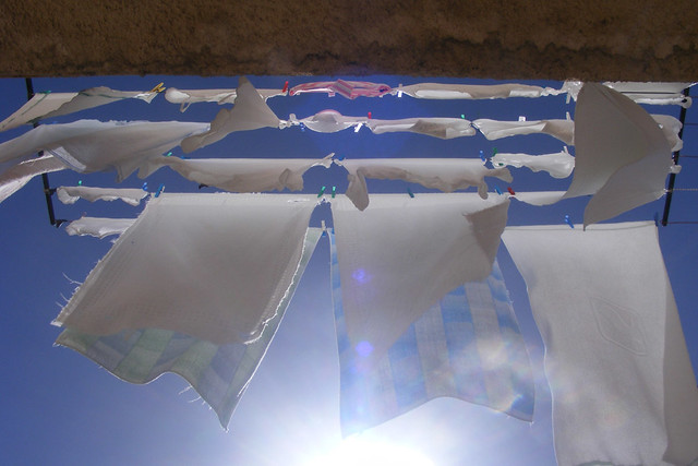 Drying at the sun
