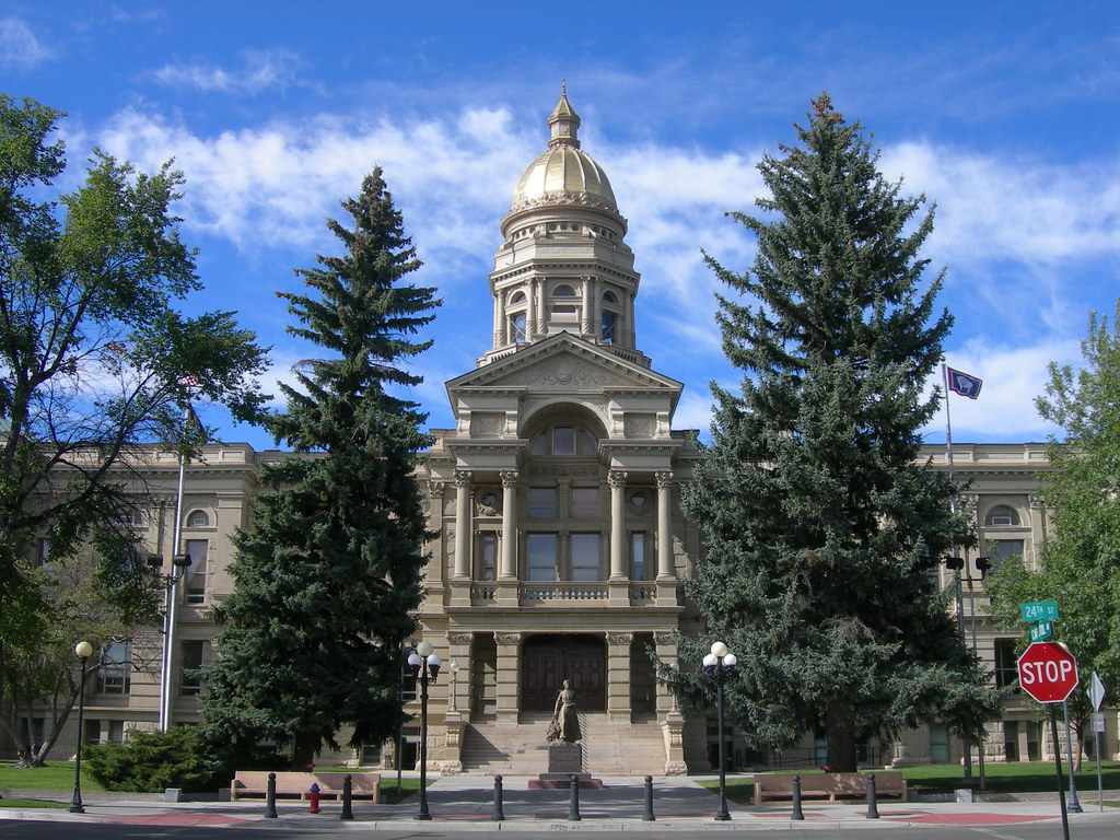Wyoming State Capitol | Cheyenne, Wyoming The construction o