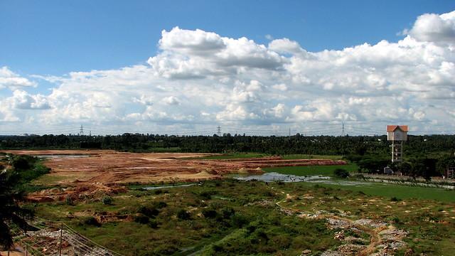 The outskirts of Bangalore