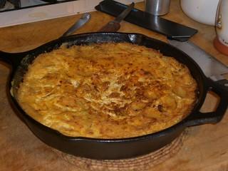 Revolutionary Spanish Omelet