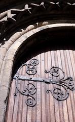 Door outside Christ Church