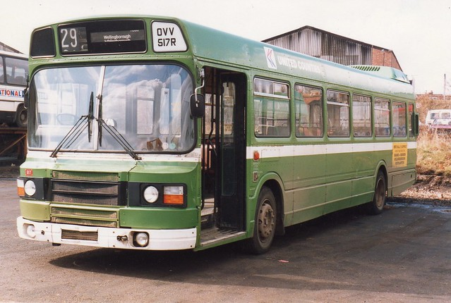 United Counties NBC No 517, Leyland National (2?), OVV517R