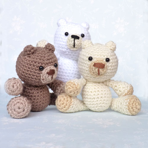Amigurumi Bear Family | Toma Creations | 500x500