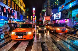Times Square Rain Dance | by Sprengben