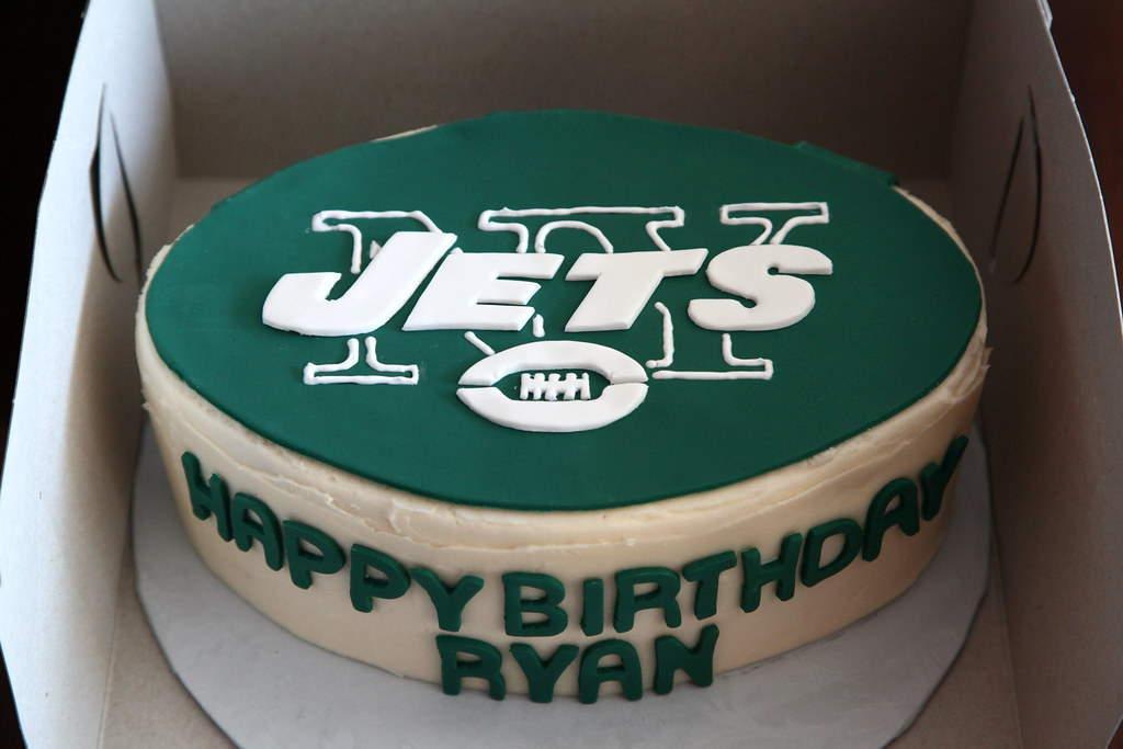 Fabulous Ny Jets Cake Doug Schneider Flickr Funny Birthday Cards Online Amentibdeldamsfinfo