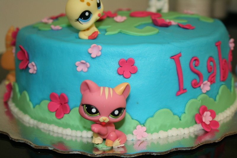 Pleasing Littlest Pet Shop Birthday Cake Sweet Tooth Cakes And Cupcakes Funny Birthday Cards Online Elaedamsfinfo