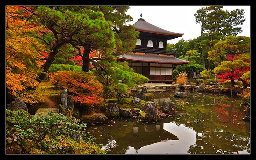 Silver Pavilion, Ginkaku-ji Temple | by shrinathk