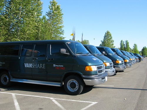 Metro VanShare at Tukwila Sounder Station