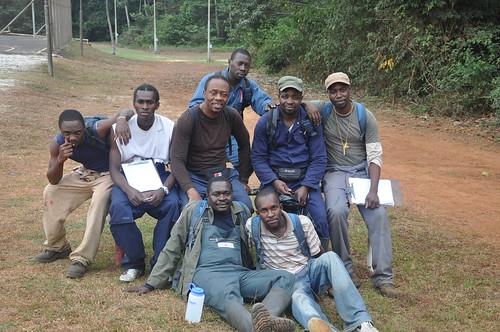 Wed, 07/21/2010 - 11:04 - Top (l-r): Rodney Moukagni, Yan Ndelo, David Kenfack, Prince Bissiemou, Olivier Nzamba, and Diosdado Neguema. Below (l-r): Etienne Mounoumoulossi and Jean Jaures.