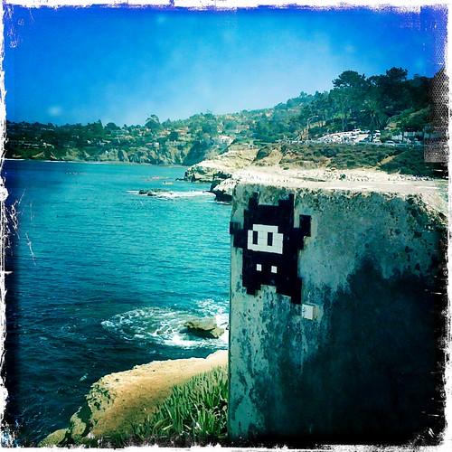 Space Invader Mosaic, La Jolla | by johnwilliamsphd