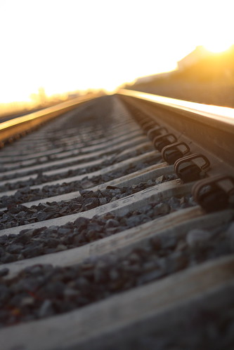sun rocks rail railroadtracks sooc