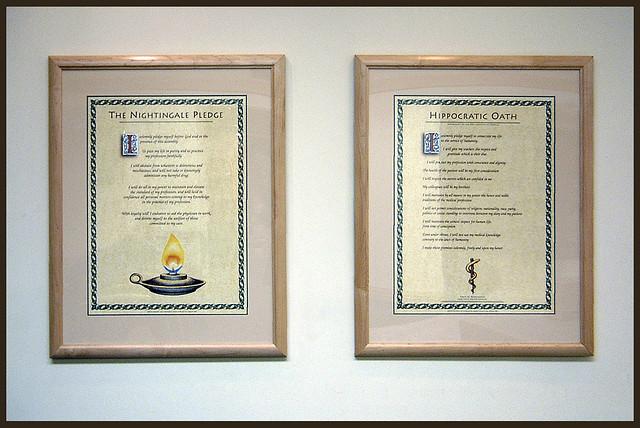 Hippocratic Oath and Nightingale Pledge