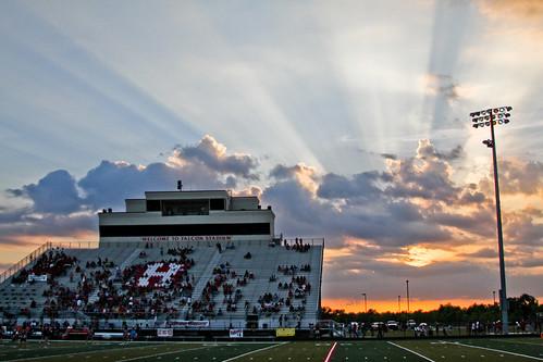 sunset football texas stadium highschool fridaynightlights 2010inphotos 3652010 365the2010edition 36612010