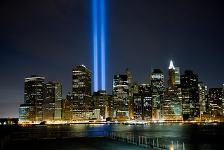 WTC Tribute in Light | by andrewmurray