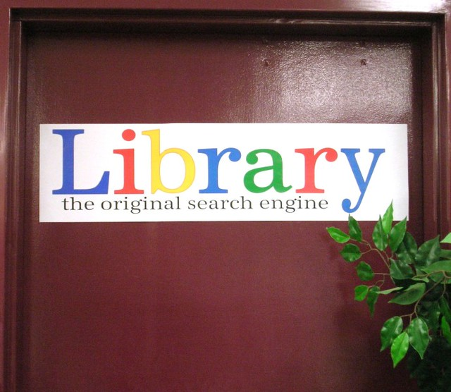 Library -- the original search engine   Sign on one of our l…   Flickr