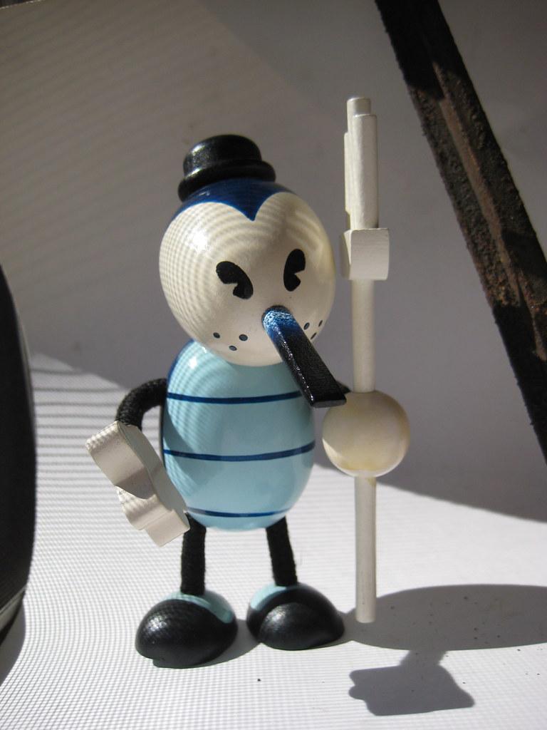 Hell/'s Proprietor Wooden Toy NEW By Glenn Barr