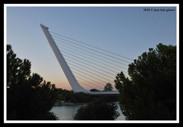 Puente del Alamillo, Sevilla