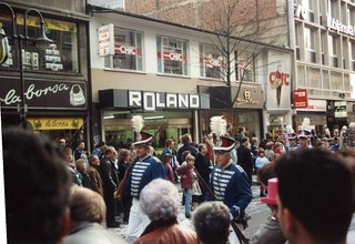 Frankfurt, Germany Fasching Parade 1989