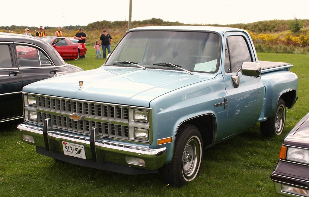 1981 chevy stepside pickup