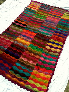 Lizard Ridge Afghan, done! | by PennBando