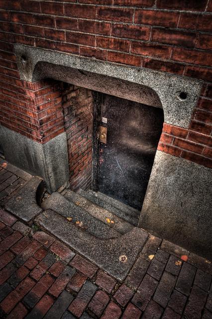 Tiny Door II, Beacon Hill, Boston